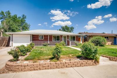 Wheat Ridge Single Family Home Active: 4692 Dover Street