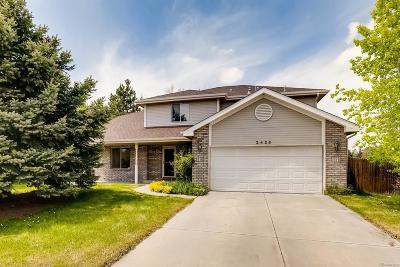 Longmont Single Family Home Active: 2425 Redwood Court