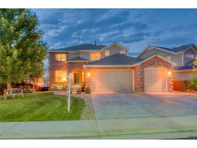 Castle Rock Single Family Home Under Contract: 3683 Rawhide Circle