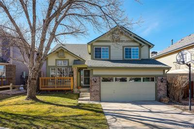 Littleton Single Family Home Under Contract: 7681 Halleys Drive