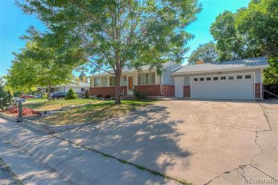 Arvada Single Family Home Active: 5265 North Beech Street