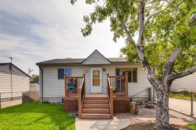 Commerce City Single Family Home Active: 7120 Birch Street