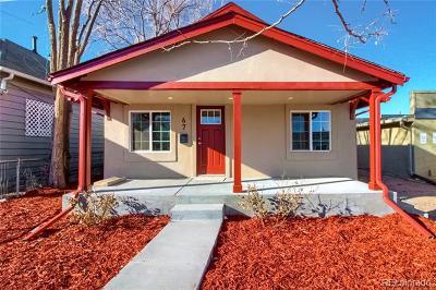 Denver Single Family Home Active: 67 Meade Street