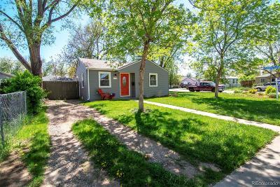 Arvada Single Family Home Under Contract: 6990 Reno Drive