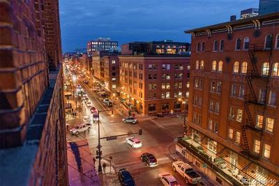 Denver Condo/Townhouse Active: 1449 Wynkoop Street #609