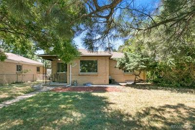 Denver Single Family Home Active: 3035 Quebec Street