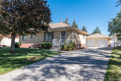 Broomfield Single Family Home Under Contract: 206 Beryl Way