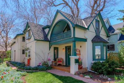 Boulder Single Family Home Active: 536 Maxwell Avenue