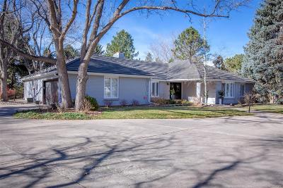 Greenwood Village Single Family Home Under Contract: 5 Windover Road
