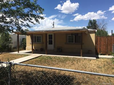 Commerce City Single Family Home Under Contract: 7311 East 82nd Avenue