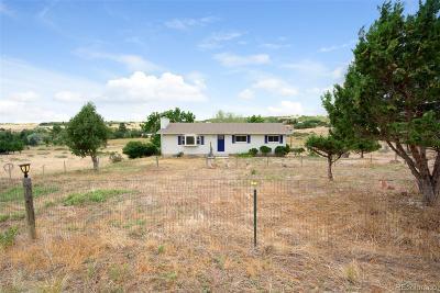 Colorado City Single Family Home Active: 7680 Frontage Road