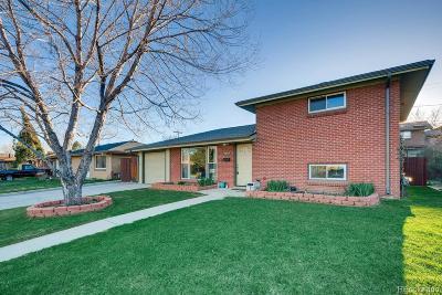 Single Family Home Active: 4669 Estes Street