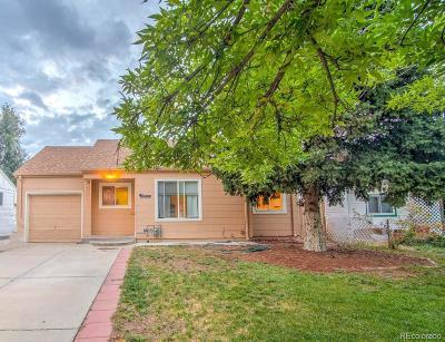 Aurora Single Family Home Under Contract: 2357 Fulton Street
