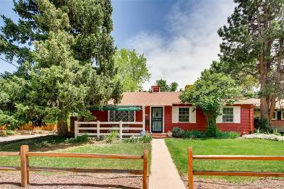 Denver Single Family Home Active: 1708 South Locust Street