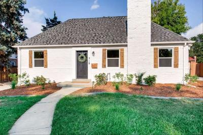 Denver Single Family Home Under Contract: 718 Grape Street
