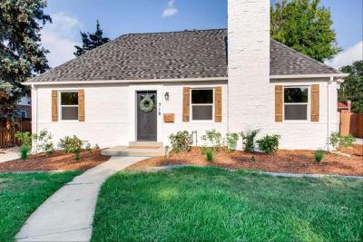 Denver Single Family Home Active: 718 Grape Street