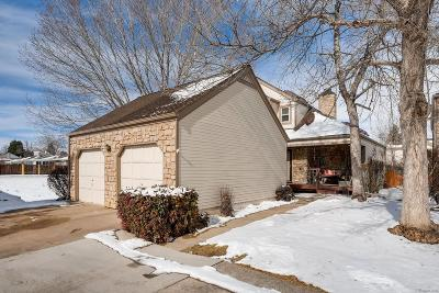 Centennial Single Family Home Under Contract: 5117 East Weaver Place