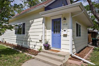 Longmont Single Family Home Active: 948 11th Avenue