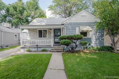 Denver Single Family Home Active: 1117 South Madison Street