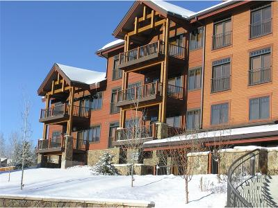 Steamboat Springs Condo/Townhouse Under Contract: 1800 Medicine Springs Drive #5103