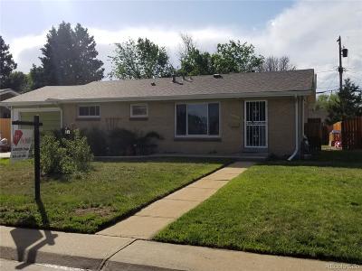 Aurora Single Family Home Active: 3207 Tucson Street