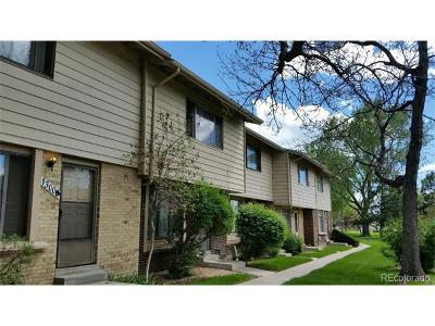 Aurora Condo/Townhouse Under Contract: 13006 East Kansas Place