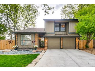 Arvada Single Family Home Active: 8020 Flower Court