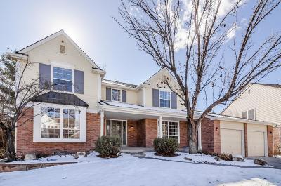 Littleton Single Family Home Active: 9214 West Berry Place