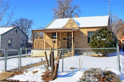 Denver Single Family Home Active: 221 South Dale Court