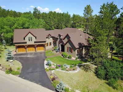 Larkspur Single Family Home Under Contract: 915 Quartz Mountain Road
