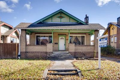 West Colfax Single Family Home Under Contract: 1426 Meade Street