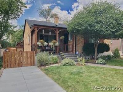 Denver Single Family Home Active: 2735 King Street