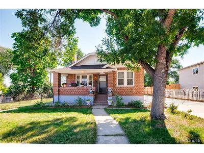 Denver Single Family Home Active: 1640 South Holly Street