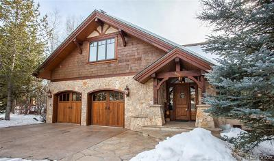 Steamboat Springs Single Family Home Active: 668 Retreat Place