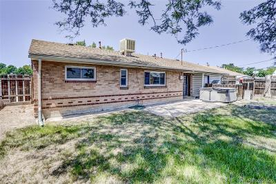 Thornton Single Family Home Under Contract: 9296 Myrna Place