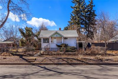 Edgewater Single Family Home Under Contract: 2555 Ingalls Street