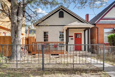 Denver Single Family Home Under Contract: 2954 Arapahoe Street