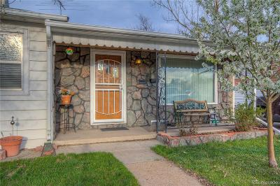 Denver Single Family Home Active: 2716 South Irving Street