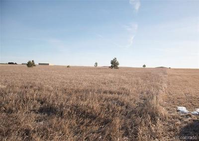 Elbert CO Residential Lots & Land Active: $95,000