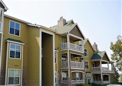 Castle Rock Condo/Townhouse Active: 6013 Castlegate Drive #D36