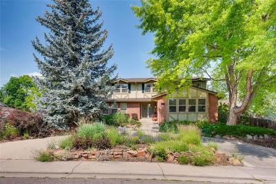 Littleton Single Family Home Under Contract: 7325 West Clifton Avenue