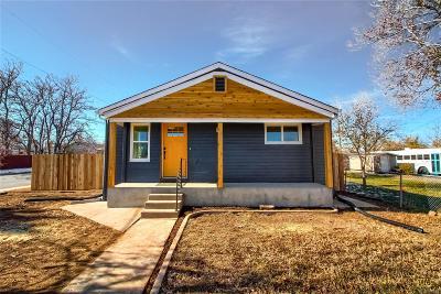 Denver Single Family Home Active: 991 South Newton Street