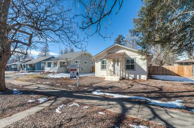 Denver CO Single Family Home Under Contract: $379,000