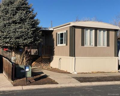 Aurora, Denver Single Family Home Under Contract: 8431 Adams Way