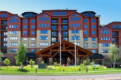 Steamboat Springs Condo/Townhouse Active: 2300 Mount Werner Circle #537