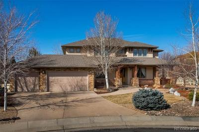 Broomfield Single Family Home Active: 14165 Dorado Court
