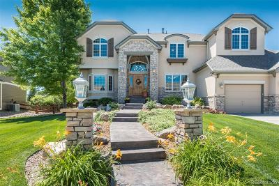 Highlands Ranch Single Family Home Active: 1352 Brettonwood Way