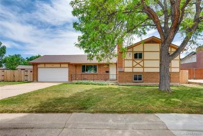 Northglenn Single Family Home Active: 9832 Alamo Drive