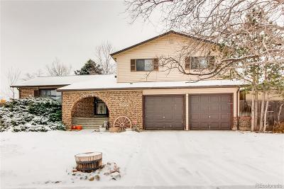 Arvada Single Family Home Active: 8222 Saulsbury Circle