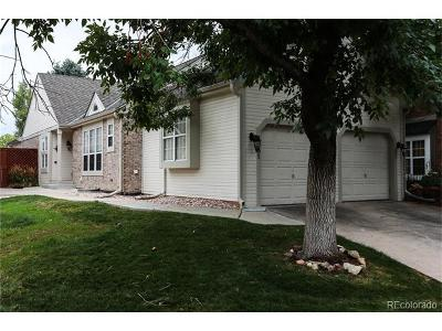 Highlands Ranch Single Family Home Under Contract: 8981 Sunset Ridge Court
